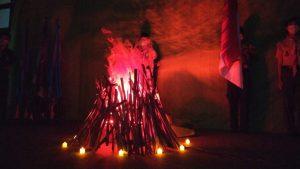 Api Unggun Kemah Virtual Kelas X